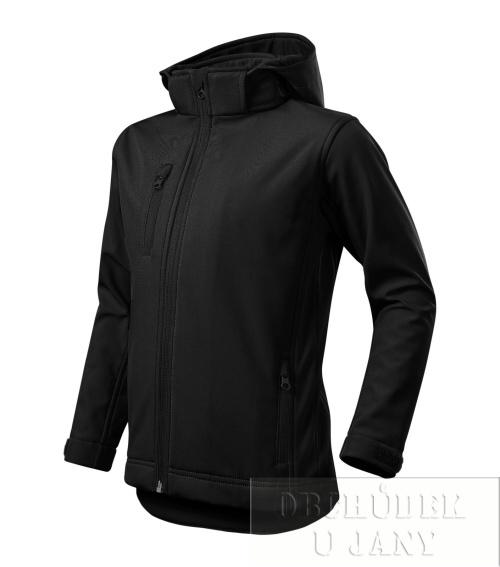 Performance - Softshellová bunda dětská černá