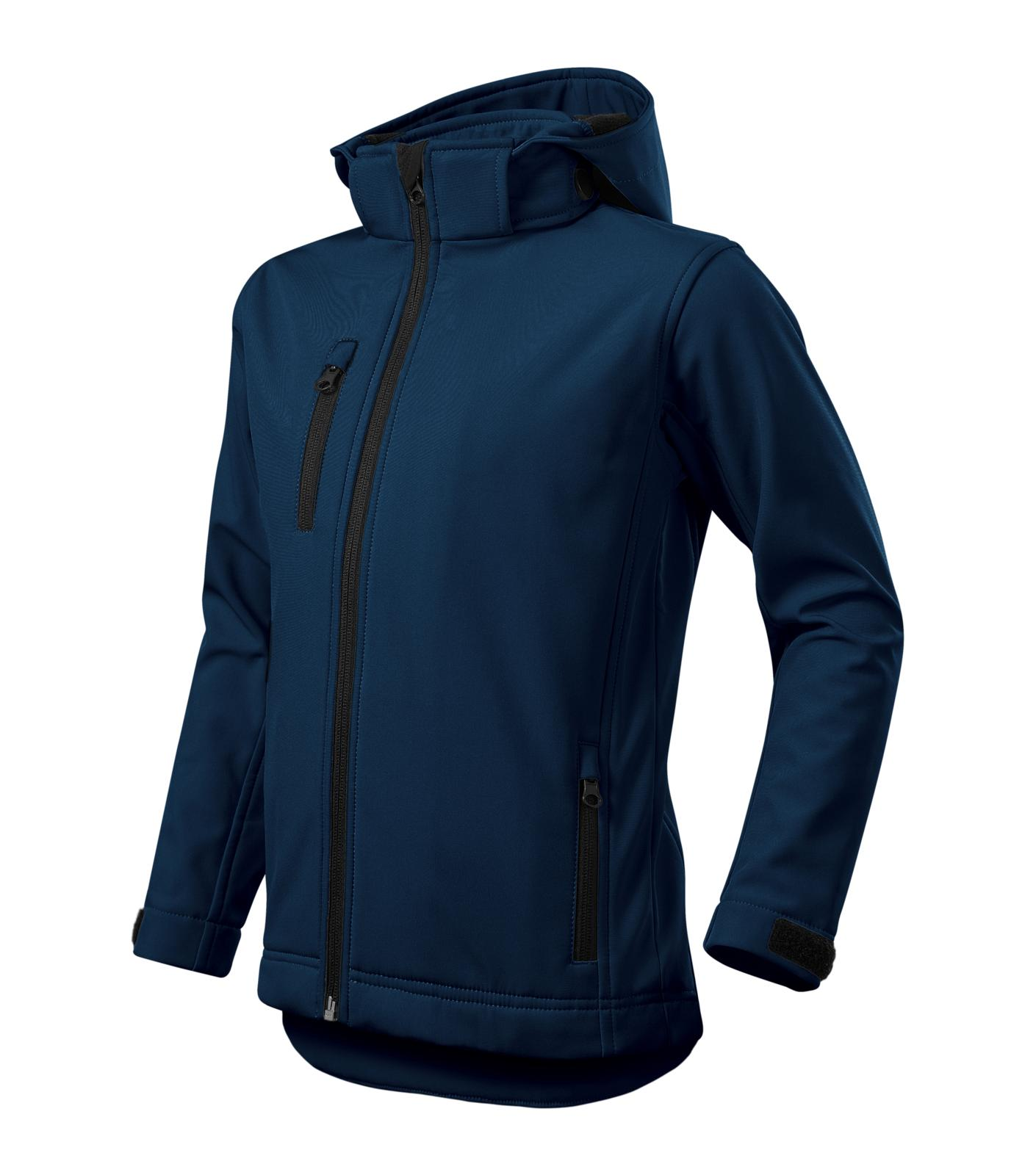 Performance - Softshellová bunda dětská námořní modrá