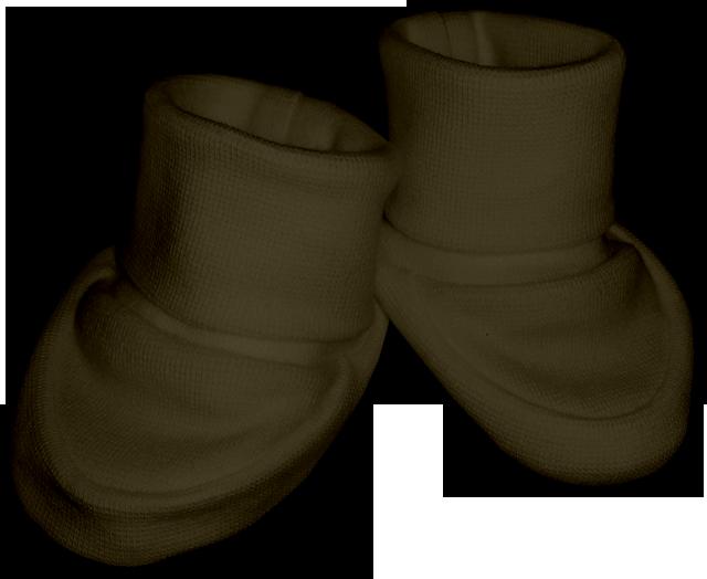 Kojenecké bačkůrky khaki