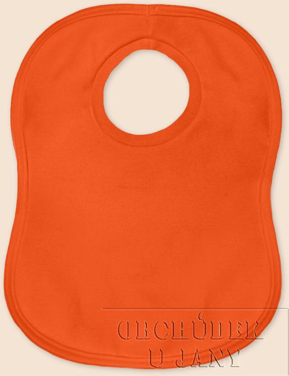 Bryndák přes hlavu oranžový tmavý