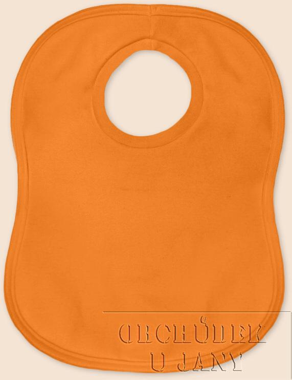 Bryndák přes hlavu oranžový světlý