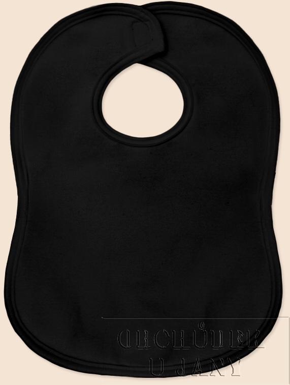 Bryndák na suchý zip černý
