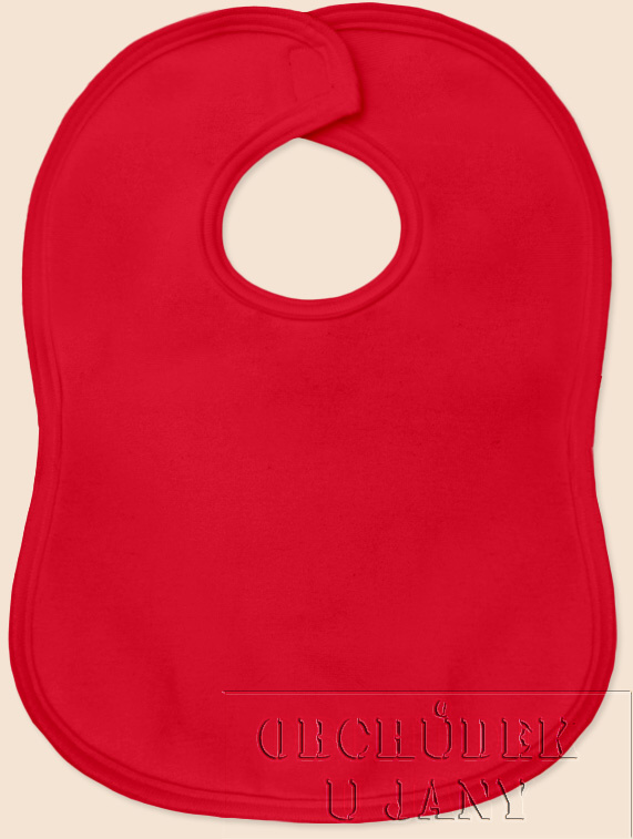 Bryndák na suchý zip červený