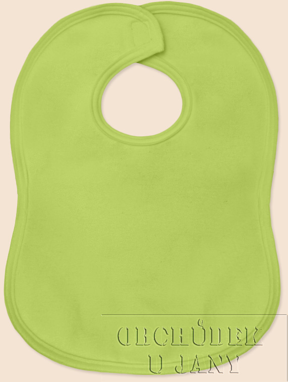 Bryndák na suchý zip zelený hráškový