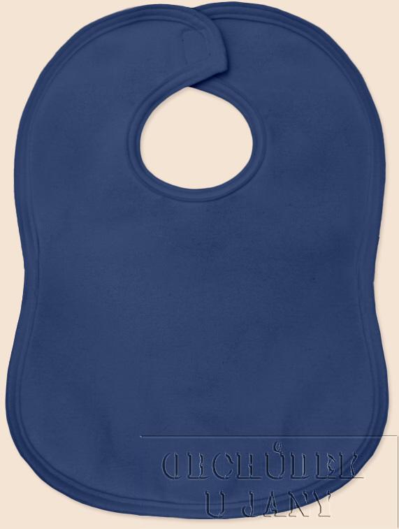 Bryndák na suchý zip modrý