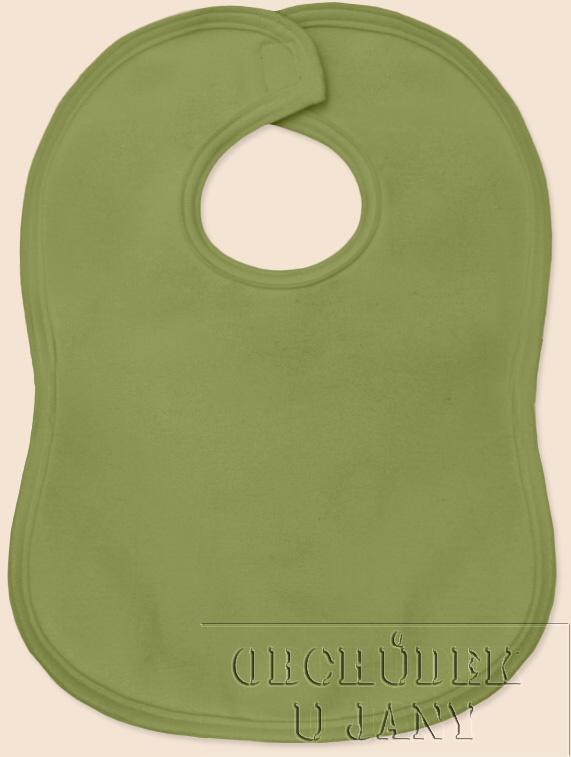 Bryndák na suchý zip zelený olivový