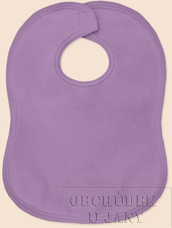 Bryndák na suchý zip fialový šeříkový