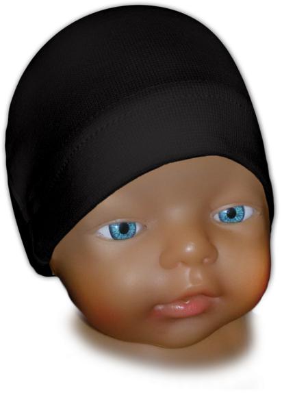 Čepice kojenecká černá