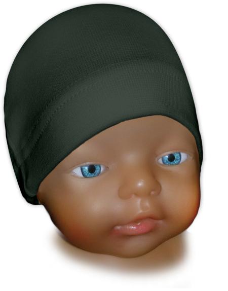 Čepice kojenecká khaki