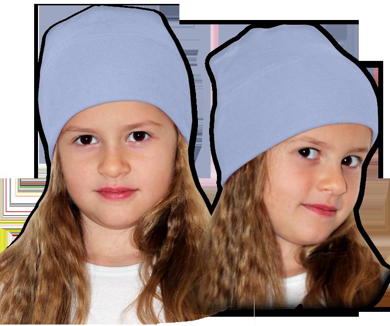 Čepice modrá pomněnková