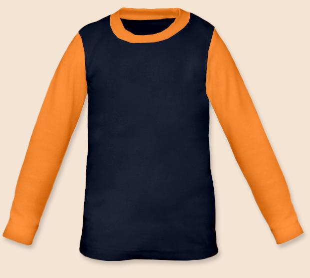 Dětské tričko dvoubarevné