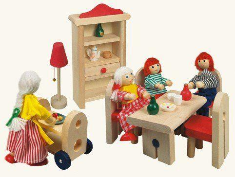 Nábytek pro panenky - jídelna