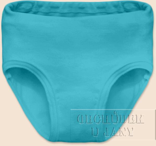 Dívčí kalhotky modré tyrkysové