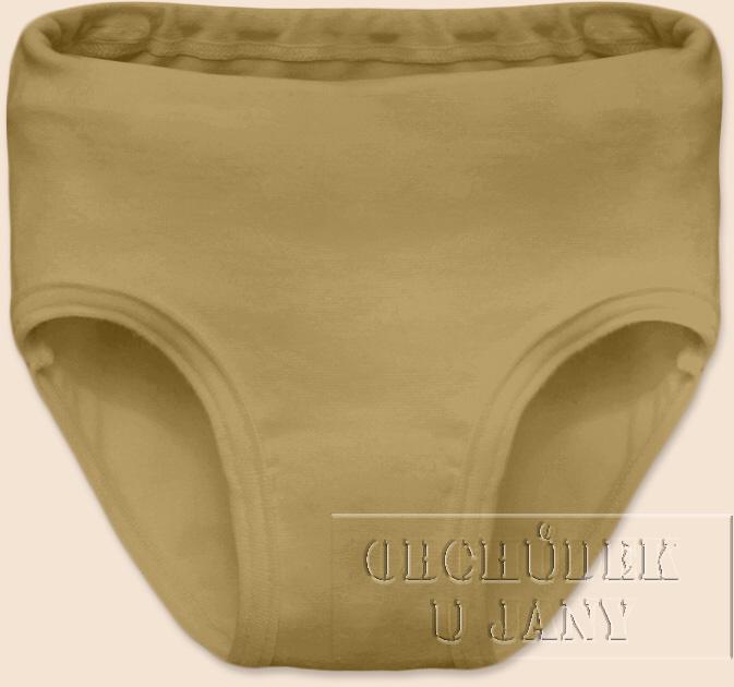 Dívčí kalhotky béžové