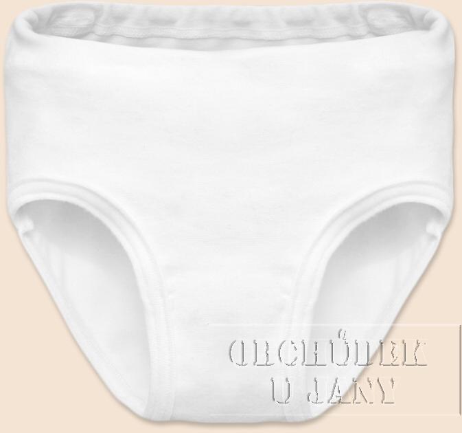 Dívčí kalhotky bílé