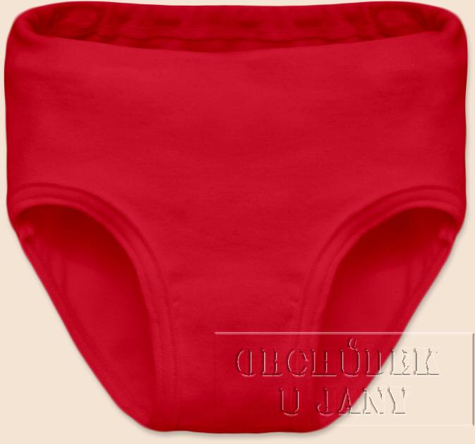 Dívčí kalhotky červené