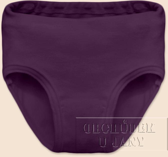 Dívčí kalhotky fialové