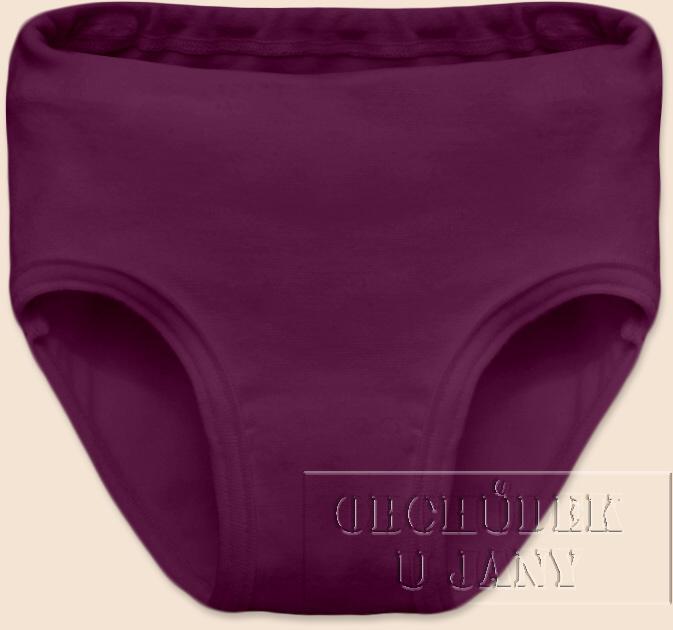 Dívčí kalhotky fialovo-růžové