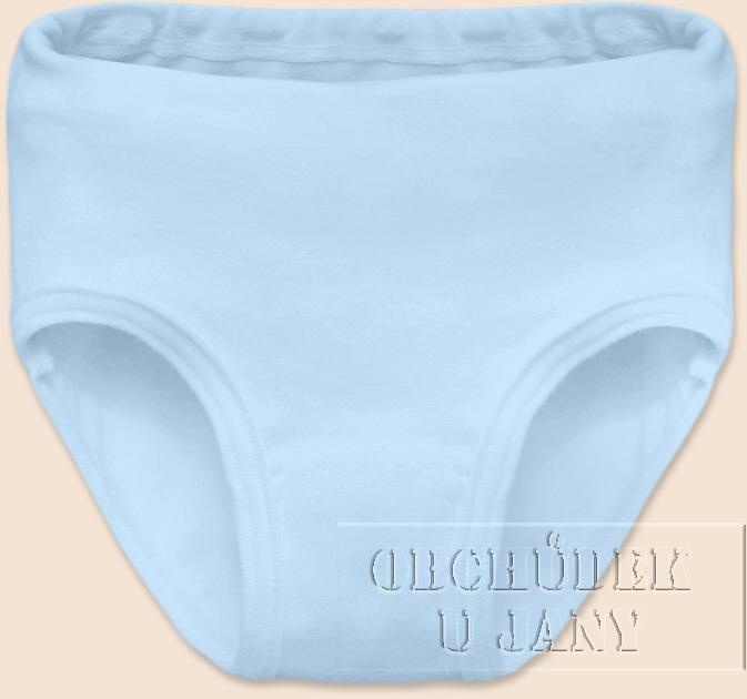 Dívčí kalhotky modré světlé