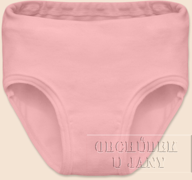 Dívčí kalhotky růžové světlé
