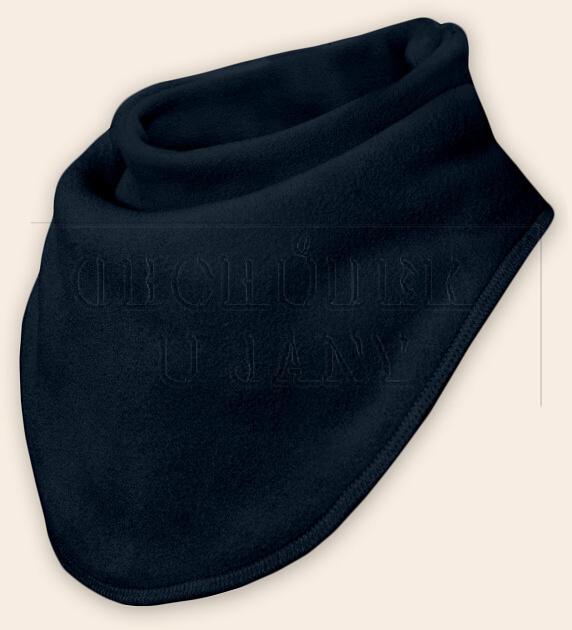 Nákrčník - šátek flísový granát