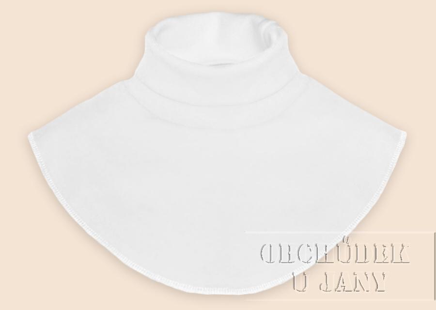 Nákrčník - rolák bílý