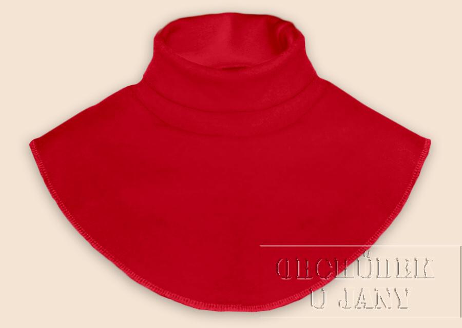 Nákrčník - rolák červený