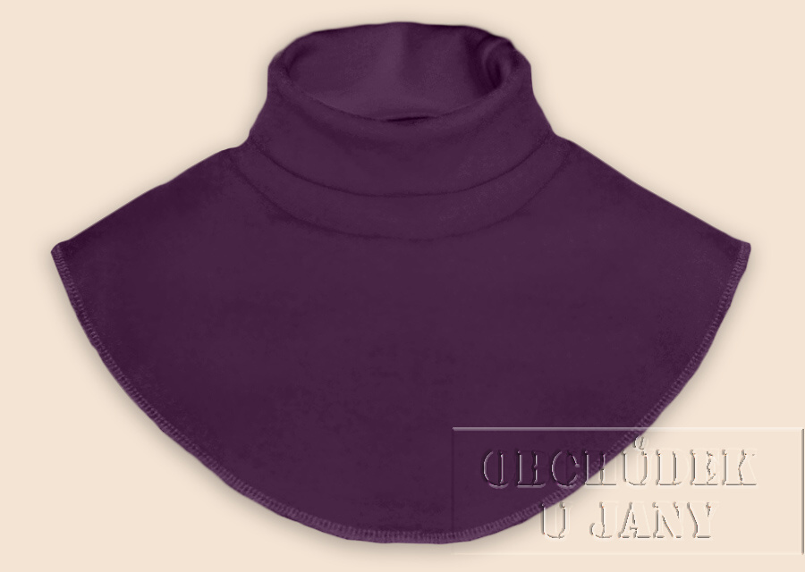 Nákrčník - rolák fialový