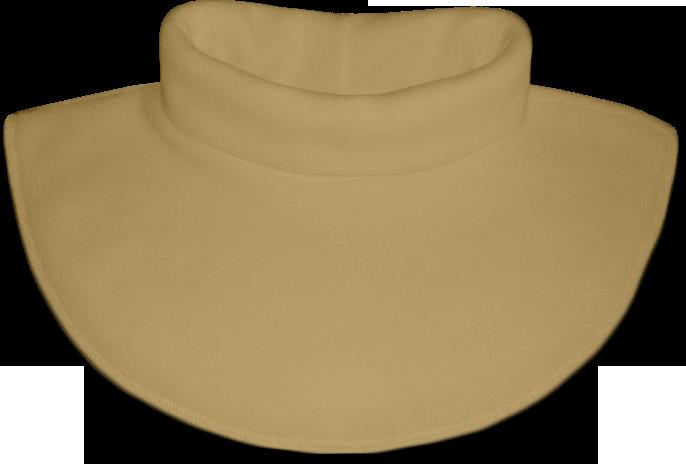 Nákrčník - rolák flísový béžový