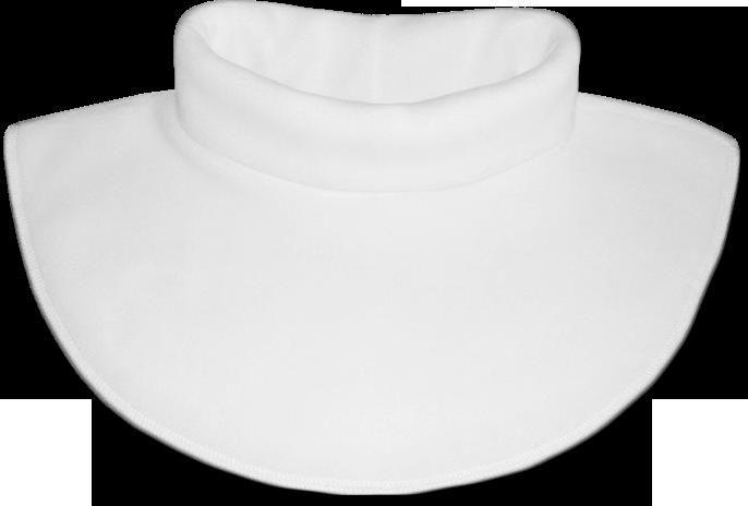 Nákrčník - rolák flísový bílý
