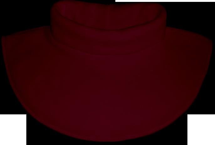 Nákrčník - rolák flísový bordó