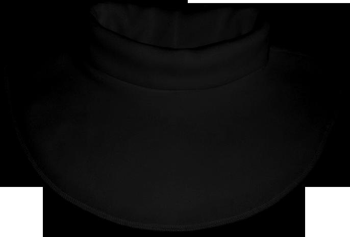 Nákrčník - rolák flísový černý