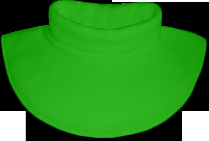 Nákrčník - rolák flísový zelený jarní