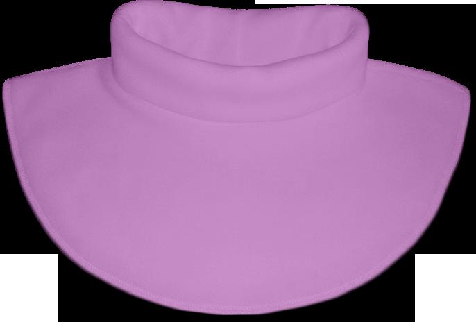 Nákrčník - rolák flísový lila