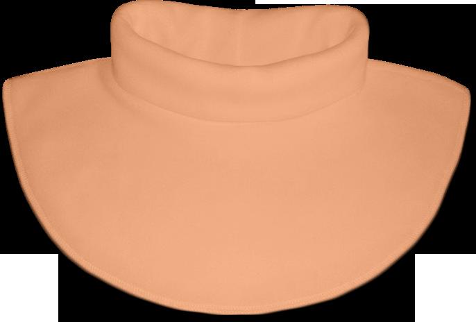 Nákrčník - rolák flísový oranžový