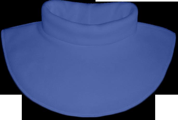 Nákrčník - rolák flísový modrý střední