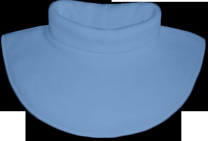 Nákrčník - rolák flísový modrý světlý