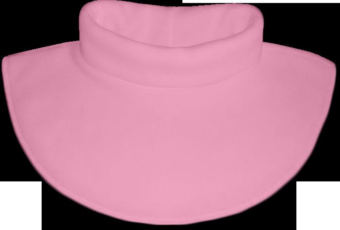 Nákrčník - rolák flísový růžový světlý