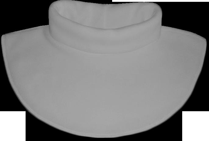 Nákrčník - rolák flísový šedý světlý