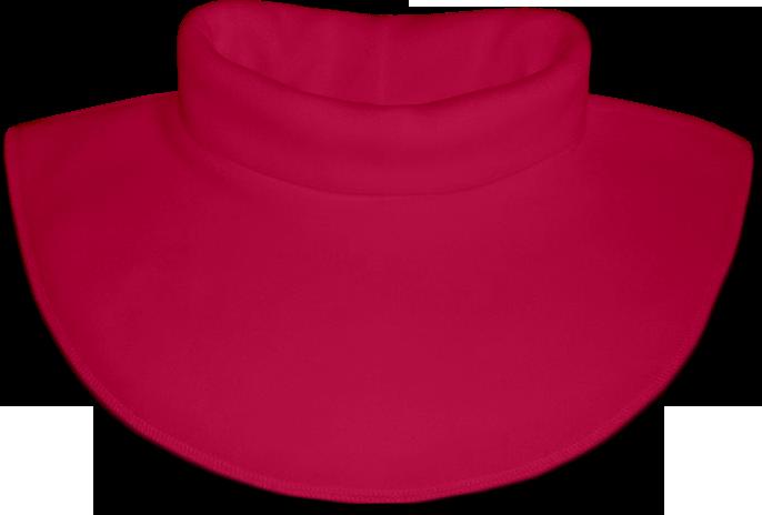 Nákrčník - rolák flísový růžový tmavý