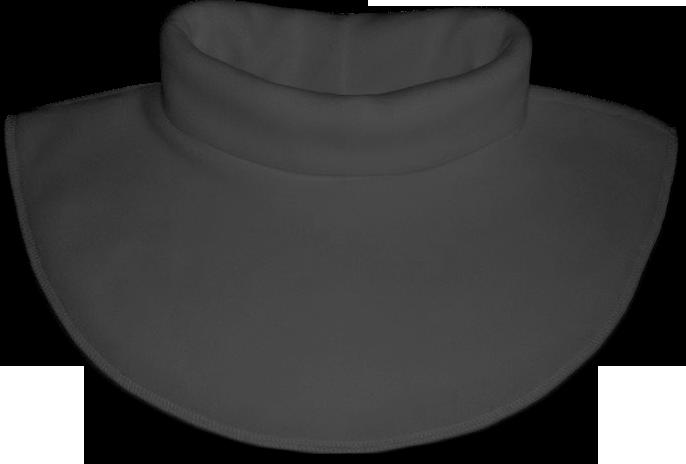 Nákrčník - rolák flísový šedý tmavý