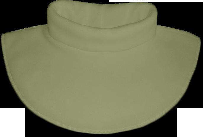 Nákrčník - rolák flísový zelený