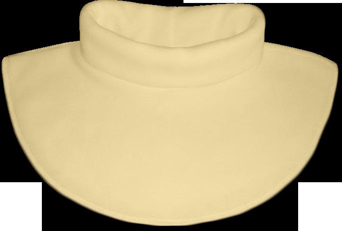 Nákrčník - rolák flísový žlutý světlý