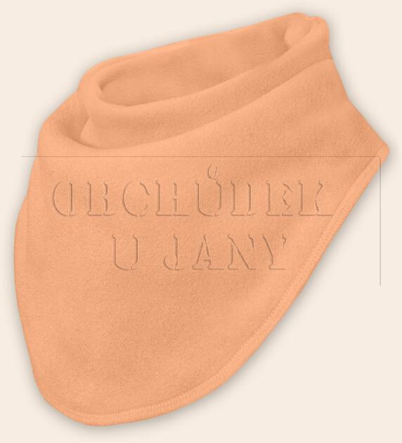 Nákrčník - šátek flísový oranžový