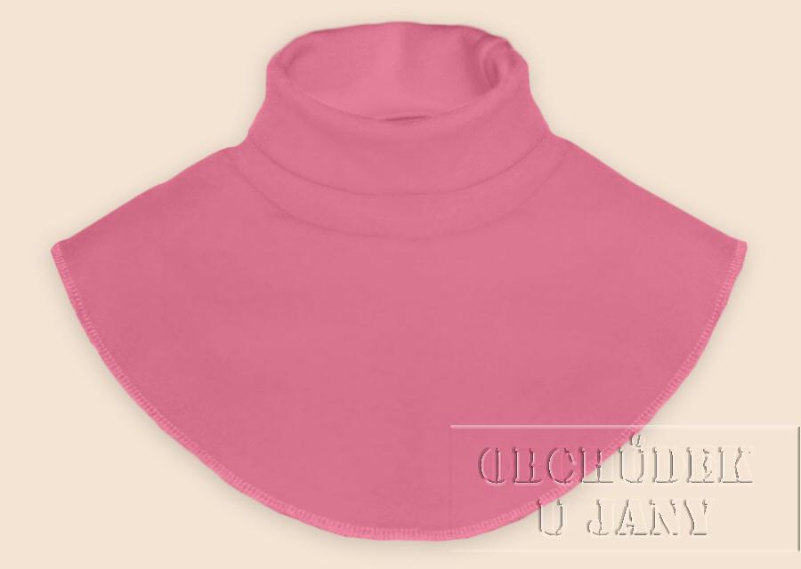 Nákrčník - rolák růžový