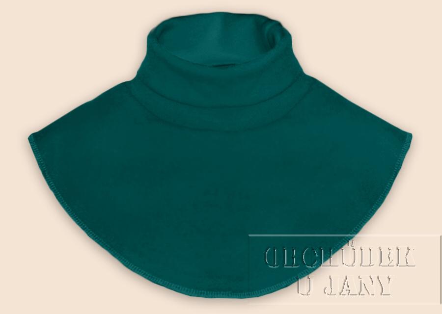 Nákrčník - rolák zelenomodrý