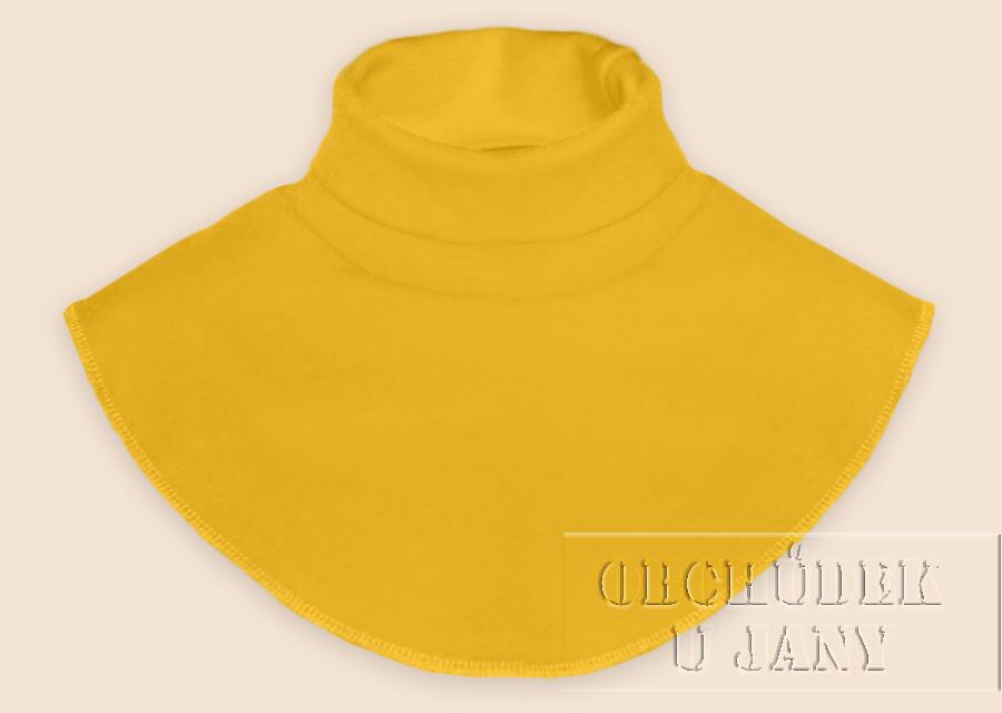 Nákrčník - rolák žlutý