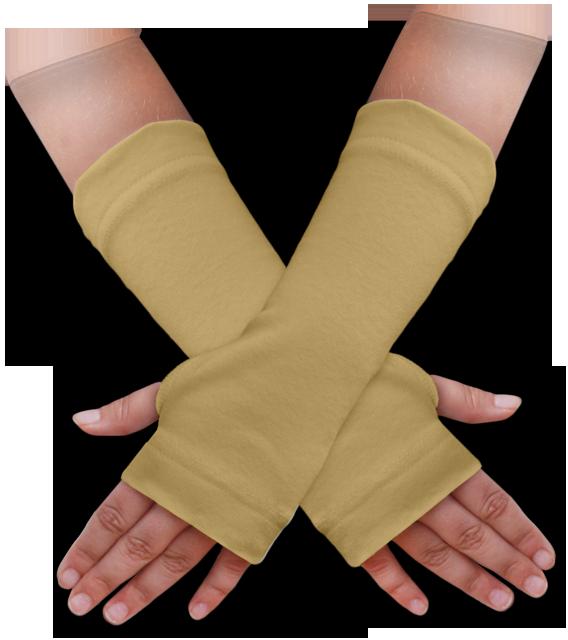 Návleky na ruce béžové