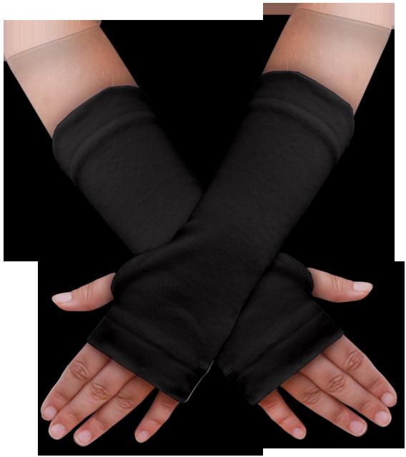 Návleky na ruce černé