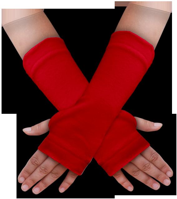 Návleky na ruce červené